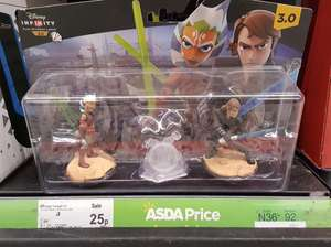 Disney infinity 3.0 star wars twilight of the republic character set only 25p @ Asda instore