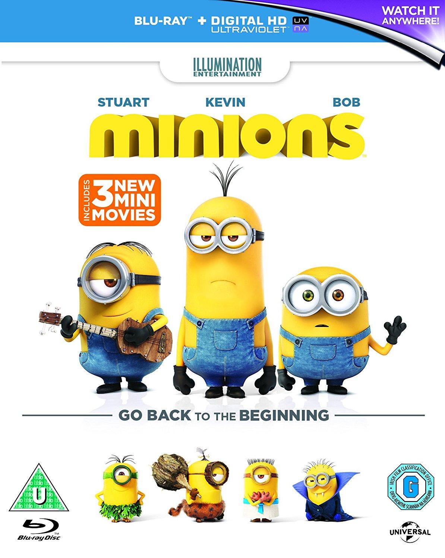 Minions Blu-Ray + Digital Code (New and Sealed)  £1 @ Poundland