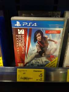 Mirrors Edge Catalyst PS4 @ Asda in-store £5