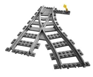 LEGO City 7895: Train Tracks £8.70 Prime / £12.69 Non Prime @ Amazon