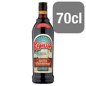 Kahlua Salted Caramel 70Cl £12 @ Tesco