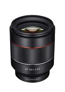 Samyang AF 50 mm F1.4 Auto Focus Lens for Sony FE Mount - Amazon deal of the day £343.20