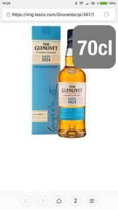 TESCO NATIONAL - The Glenlivet Founders Reserve Malt Whisky 70CL. £20