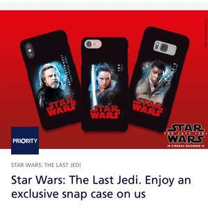 Back in stock! Be quick! O2 priority Star Wars phone case