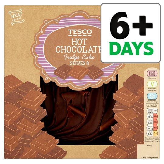 Tesco Chocolate Fudge Cake (700g) was £5.50 now £2.75 @ Tesco