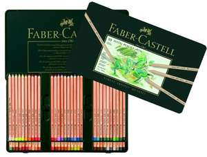 Faber-Castell Pitt Pastel Pencils Tin of 60 @ Amazon Deal of the Day - £40.99