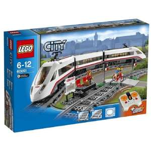 LEGO 60051 City High-Speed Passenger Train from Amazon (with free  Lego Batman Movie Catwoman Catcycle Chase) - £66