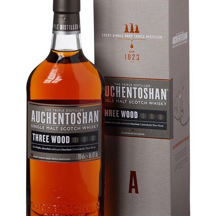 Auchentoshan Three Wood Whisky £34 @ Amazon