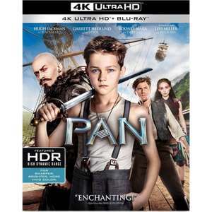 Pan (4K Ultra HD + Blu-Ray) £11.99 Delivered @ 365 Games