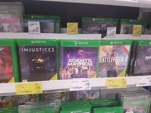 Mix of Xbox One games reduced Asda Swansea