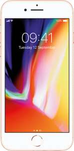 Apple iPhone 8 64GB Gold/Grey/Silver on EE, 16GB DATA £37 per month, £65 upfront - £953 at mobiles.co.uk
