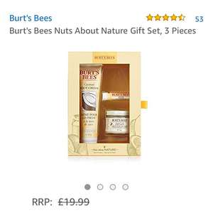 Free Burts Bees Gift set when you spend £25+ on Burts Bee's on Amazon