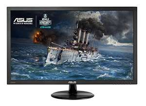 ASUS VP278H 27 inch FHD 1920 x 1080 Gaming Monitor (1 ms, HDMI, D-Sub, Low Blue Light, Flicker Free, TUV Certified) £163.66 @ Amazon