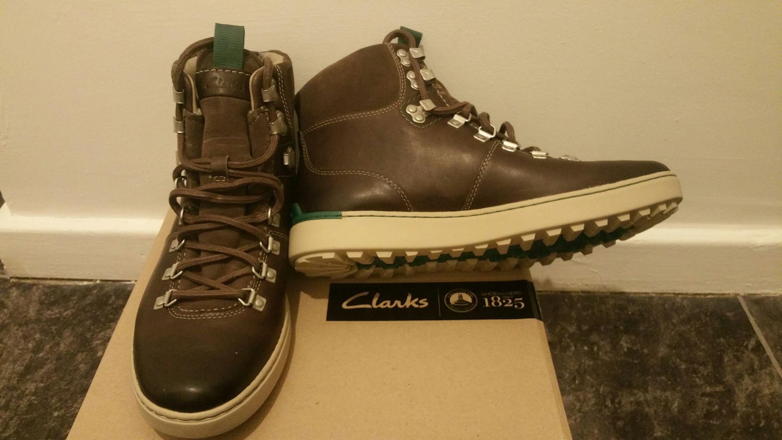 Rare Clarks Nanu Rise GTX Gore-Tex boots £35