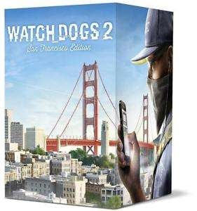 Watch Dogs 2 San Francisco Collectors Edition PS4 New @ ebay (Free Delivery) £34.99 @  Home and Garden Store