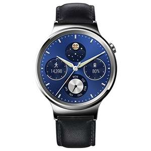 Huawei W1 Stainless Steel Classic Smartwatch with Leather Strap [Energy Class A+++] - £167.99 @ Amazon