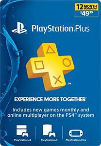 [US] 1 Year Playstation Plus - $40 (£30) @ Amazon.com