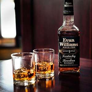 Evan Williams bourbon whiskey £17 (Prime) / £21.75 (non Prime) at Amazon
