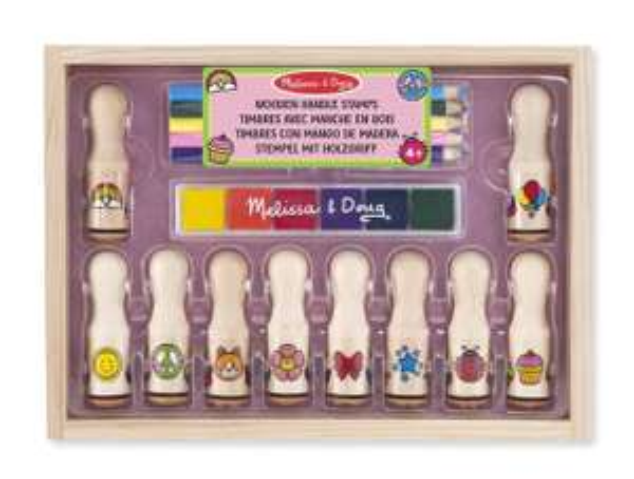 Melissa & Doug Deluxe Happy Handle Stamp Set £5.76 at Amazon