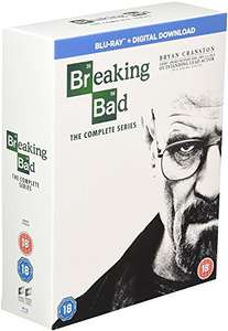 Breaking Bad: The Complete Series [Blu-ray] £24.99, DVD £19.99 @ Amazon