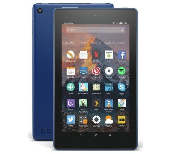 Amazon Fire 7 Alexa 7 Inch 16GB Tablet £42.49 // Amazon Fire 7 Alexa 7 Inch 8GB Tablet £37.49 // Amazon Fire 7 Kids Edition 7 Inch 16GB Tablet £79.99 @ Argos