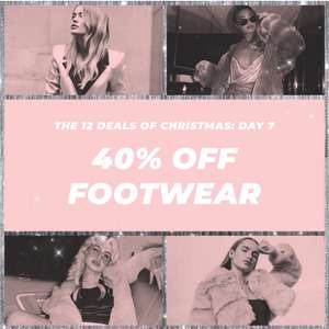 40% off footwear @ Missguided