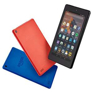 Amazon Fire 7 Tablet with Alexa 7 inch, Wi-Fi 8GB £34.95 & 16GB £39.95 ​// Fire HD 8 Tablet 16GB £49.95 & 32GB £69.95 Free C&C @ John Lewis
