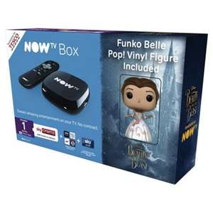 Now TV Box with 1 month Sky Cinema Pass and Beauty and the Beast Pop! Figurine - £15 when using TDX-YXRG at Tesco