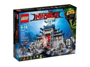 Lego Shop Sale Ninjago Temple of the Ultimate Weapon £63.99