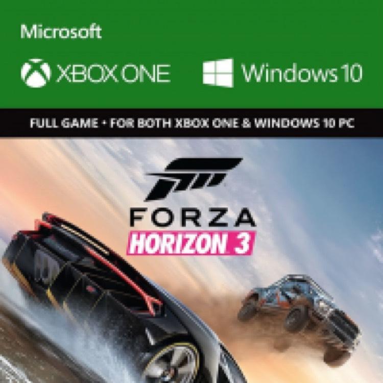 Forza Horizon 3 Xbox One - £17.99 at cdkeys!