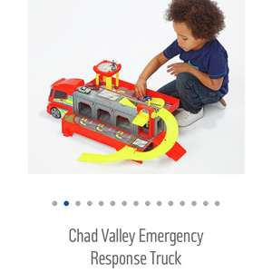 Chad valley emergency response truck £8.99 argos