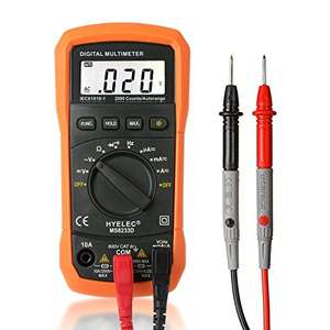 Crenova Auto Ranging Digital Multimeter AC Voltage Detector £10.98 (Prime) / £14.97 (non Prime)  Sold by Crenova Official and Fulfilled by Amazon