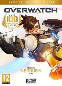 Overwatch GOTY Edition £26.08 -  Instant Gaming