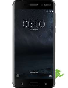 (price now drops in basket) - Nokia 6 5.5in 1080p 16MP 32GB 3GB for £119.99 plus 1 month rolling contract £15 (Voda) before cashback CPW