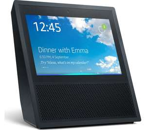 AMAZON Echo Show - Black £129.99 at Currys (price matched amazon) +1% cashback