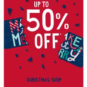 Up to 50% off CHRISTMAS Shop and More @ MATALAN