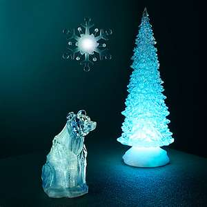 John Lewis LED Morphing Tree Decoration (plus lots of other LED decorations 1/2 price!)