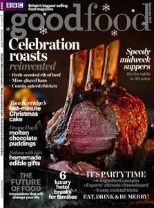 £5 for 5 issues of BBC Good Food Magazine - usually £4.50 per issue. Secret Santa or Stocking Filler Idea