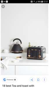 Morphy Richards Limited Edition Rose gold kettle and toaster £79.99 Currys