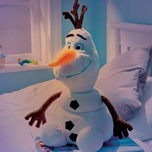 Disney Frozen Olaf Plush Pal Night Light Soft Toy by Go Glow £7.96 @ amazon.co.uk - Prime Exclusive