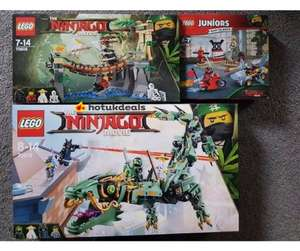 Various Lego sets at ASDA heavily discounted IN STORE