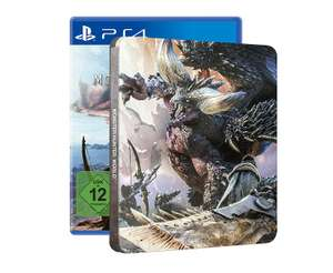 Monster Hunter World Steel Book Edition (PS4) £64.99 Amazon Prime member save £2