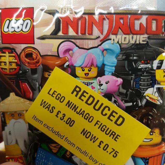 Lego Ninjago CMF minifigures 75p INSTORE Morrison's