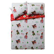 Home Merry Pugmas Single Duvet Set was £11.99 now £7.99 / Double now £8.99 / Kingsize now £10.49 (Penguin Party Sets same price)