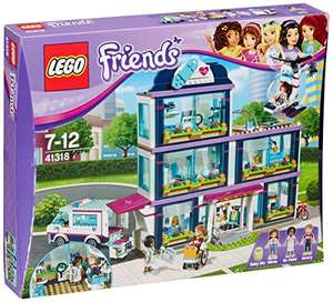 Lego Friends 41318 Heart lake Hospital Construction Toy @ Amazon - £53 + FREE Lego Batman Movie Catwoman Catcycle Chase Toy