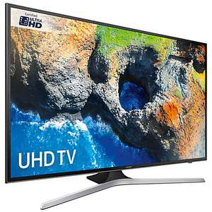 """Samsung UE40MU6120 HDR 4K Ultra HD Smart TV, 40"""" with TVPlus + Free 5 year guarantee + Free Delivery £348 (confirmed price match with C&M) + Free 10 UHD Movie rental purchases through redemption (Directly from Samsung) @ John Lewis"""