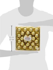 Ferrero Rocher 3 x 24 pieces = 72 pieces around 21p per rocher! £15 prime / £19.75 non prime @ Amazon