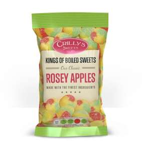 Crillys Rosey Apples Boiled Sweets 39p for a 160g Bag at Home Bargains