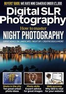 Digital SLR Photograhy Magazine  5 issues for £5 @ Magazine.co.uk