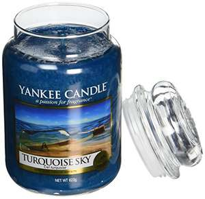 Yankee Candle Turquoise Sky Large Jar 623g Candle - £9.99 Sold by My Swift and Fulfilled by Amazon (£13.98 non Prime)
